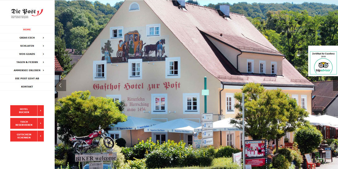 Hotel Gasthof Die Post in Herrsching
