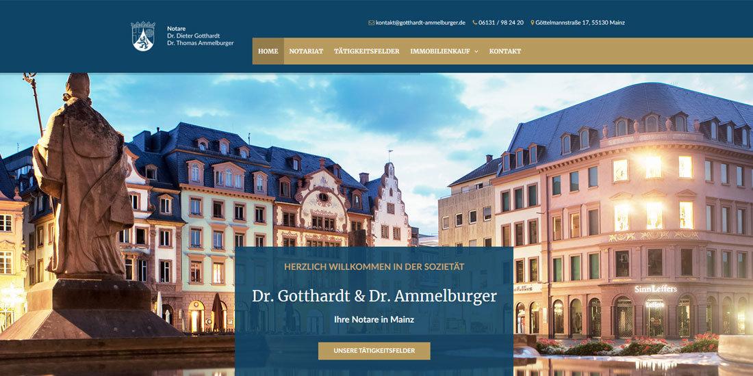 Notare Dr. Gotthardt und Dr. Ammelburger