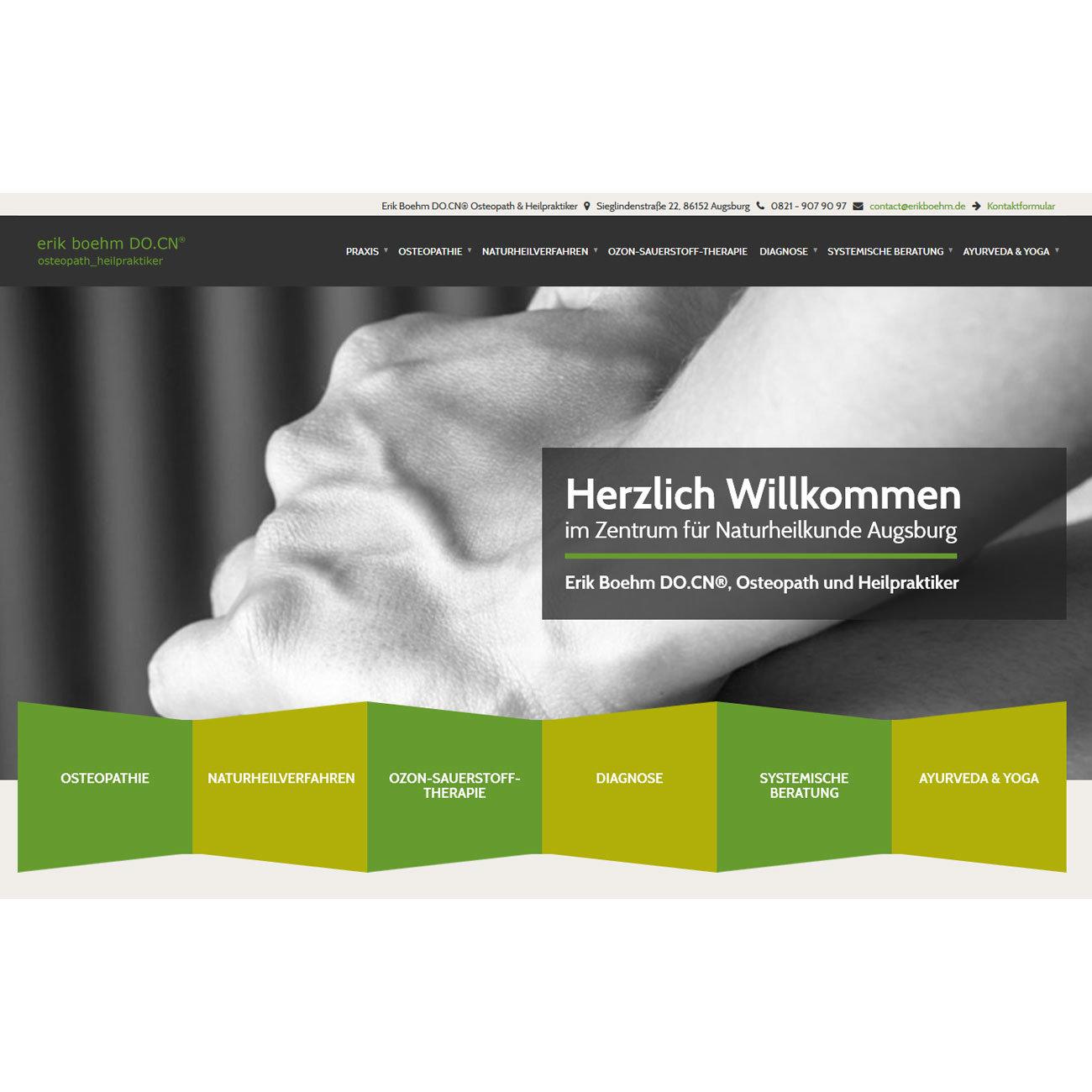 Erik Boehm DO.CN®, Osteopath und Heilpraktiker